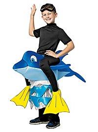 Delfin Reiterkostüm für Kinder