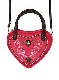 Deluxe Heart Handbag pink