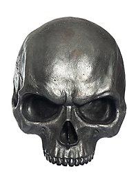 Demi-crâne décoratif en résine (métallique)