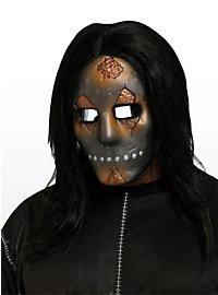Demi-masque de voleur d'âme à l'aspect métallique