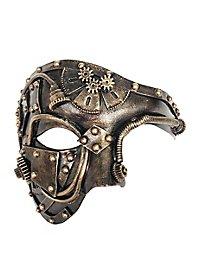 Demi-masque d'humanoïde steampunk