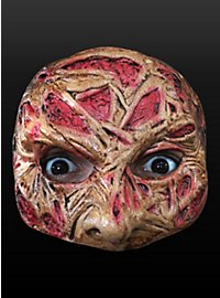Demi-masque Freddy en latex