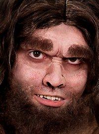 Demi-masque homme préhistorique