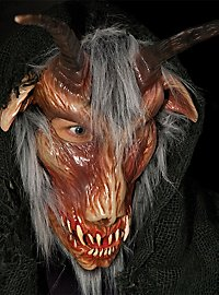 Demon mask goat