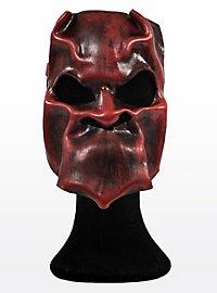Démon rouge ardent Masque en cuir