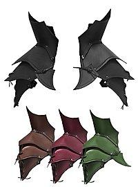 Leather Pauldrons - Demon
