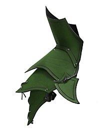 Demon Shoulder Guards green