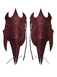 Tassets - Demon red