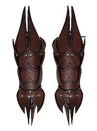 Demon Vambraces brown