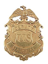 US Deputy Marshal Messing-Adler Abzeichen