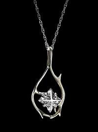 Der Hobbit - Tauriels Silberkette mit Anhänger