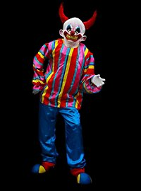 Devil Clown Costume with Mask