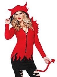 Devil Dearest Hoodie Dress