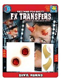 Devil Horns 3D FX Transfers
