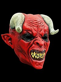 Devil Horror Mask made of latex