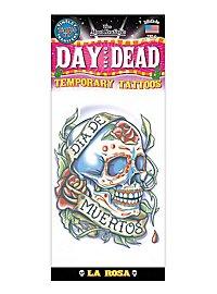Día de los Muertos Klebe-Tattoo