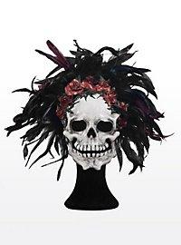 Dia de los Muertos Masque en cuir