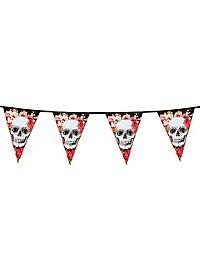 Dia de los Muertos pennant chain 6 meters