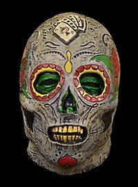 Dia de los Muertos Zombie Maske aus Latex