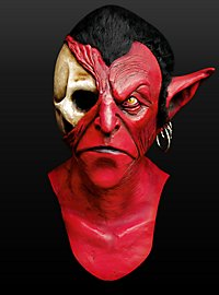 Diabolus Maske aus Latex