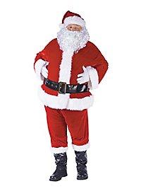 Dickes Weihnachtsmann Kostüm
