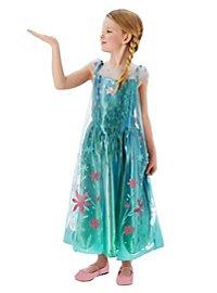 Die Eiskönigin Kinderkostüm Elsa Blumenkleid