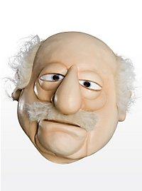 Die Muppets Waldorf Maske aus Latex