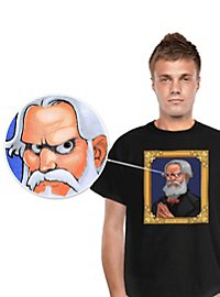 Digital Dudz Horrorportrait T-Shirt