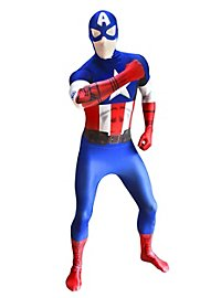 Digital Morphsuit Captain America Full Body Costume