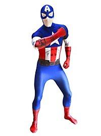 Digital Morphsuit Captain America Ganzkörperkostüm