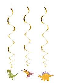 Dino Dekospiralen 3 Stück
