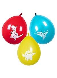 Dino Luftballons 6 Stück