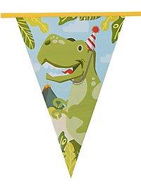 Dino Wimpelkette 6 Meter