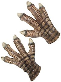 Dinosaur claws gloves