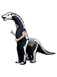 Diplodocus Skelett Aufblasbares Dinokostüm