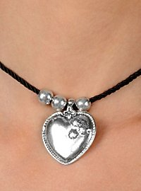Dirndl Heart Necklace