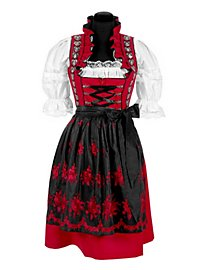 Dirndl with Apron red
