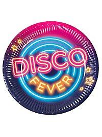 Disco Pappteller 6 Stück