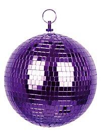 Discokugel violett