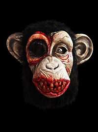 Diseased Chimp Zombie Latex Full Mask