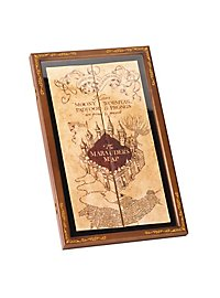 Display Case for Marauder's Map