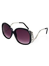 Diva Sonnenbrille schwarz