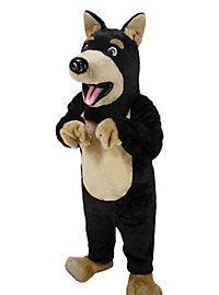 Doberman Mascot