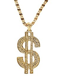 Dollar Sign Medallion