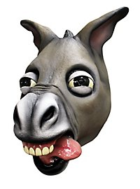 Donkey mask laughing