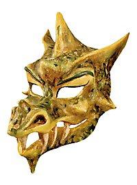 Drache - Venezianische Maske | rot oder grün