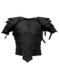 Lederrüstung mit Schultern - Drachenreiter schwarz