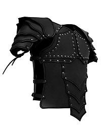 Drachenreiter Lederrüstung schwarz