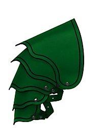 Drachenreiter Schultern grün