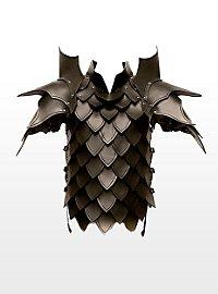 Drachentöter Lederrüstung schwarz